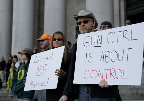 NRA, SAF File Suit to Block New Washington Gun-Control Law