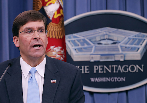 U.S. Army Secretary Mark Esper