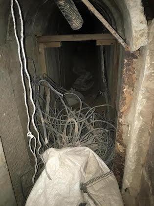 Hamas terror tunnel / Denver Riggleman