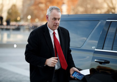 Secretary of the Interior Ryan Zinke