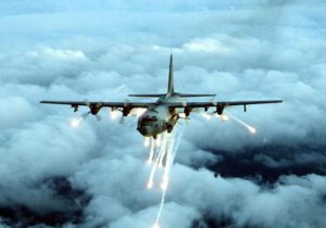 An Air Force Special Forces AC-130 gunship in an undated photo