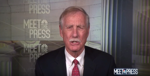 Angus King: No Evidence Yet for Public to Think Impeachment Is 'Appropriate Path'
