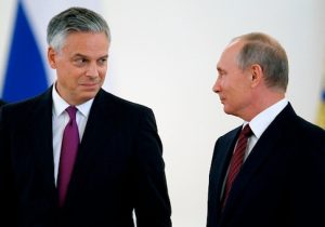 Jon Huntsman and Vladimir Putin