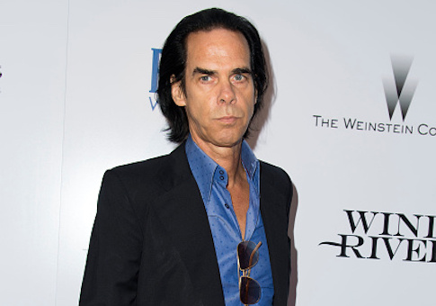 Recording artist/composer Nick Cave