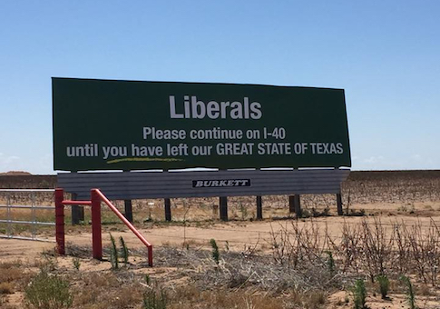 texas billboard