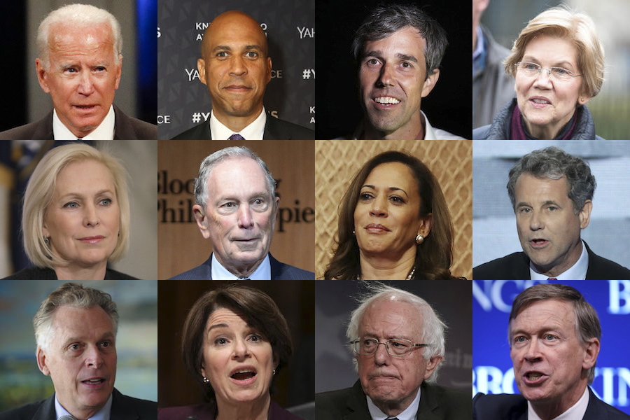 Image result for The Lackluster Democratic Field