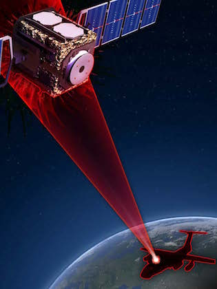 Airborne ASAT laser