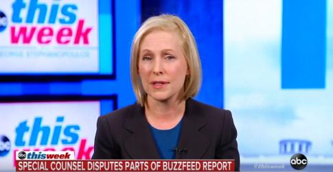 photo image Gillibrand: BuzzFeed Report Still Raises Concerns Despite Mueller Office Disputing It