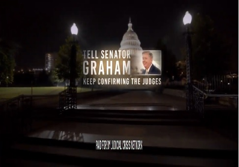 photo image New Ad Calls on Graham to Stand up to Democratic Bullies'