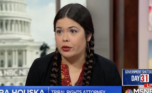 MSNBC Guest Repeats Unproven Claims Teens Surrounded Native American, Chanted 'Build the Wall'