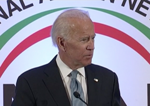 Biden Laments the Country's Health-Care System Harming the Working Class