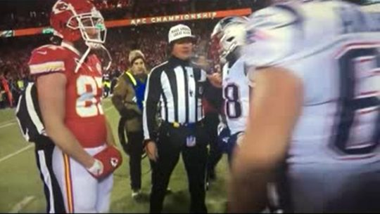 Video Outrage Nfl Ref Blatantly Favors Patriots Over Chiefs In Afc