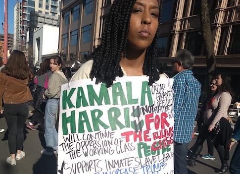 Kamala Harris Praises 'Incredible' Black Lives Matter, Feeling Isn't Mutual