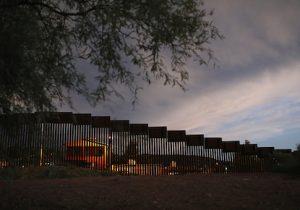 U.S.-Mexico border in Nogales, Ariz.