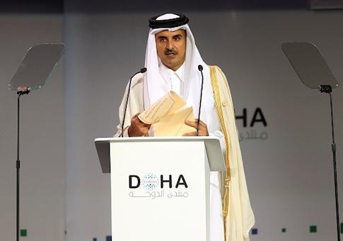 Qatar's Emir Sheikh Tamim bin Hamad Al-Thani