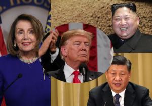Trump Pelosi Xi Un