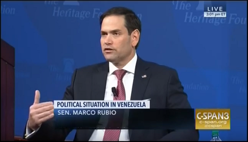 Rubio: Supporting Stability in Venezuela Is in U.S. Nation Interest