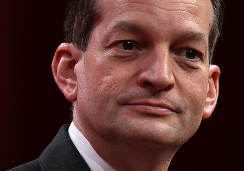 Secretary of Labor Alex Acosta