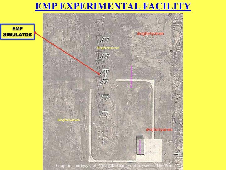 EMP experimental facility