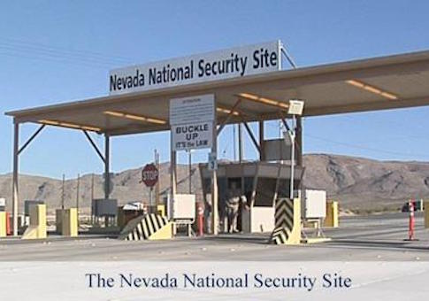Nevada security site