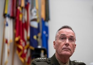 Chairman of the Joint Chiefs of Staff Gen. Joseph Dunford