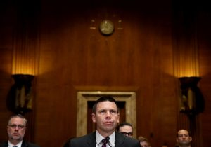 Acting Homeland Security Secretary Kevin McAleenan