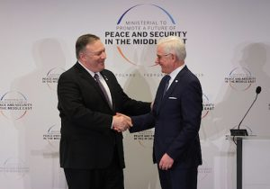 Secretary of State Mike Pompeo and Polish Foreign Minister Jazek Czaputowicz