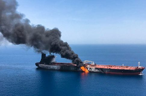 photo image Bloomberg Op-ed Suggests Iran Tanker Attack Was a False Flag