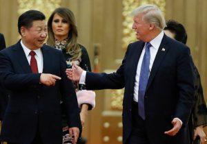 U.S. President Donald Trump and China's President Xi Jinping