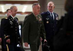 Chairman of the Joint Chiefs Marine Corps General Joseph Dunford