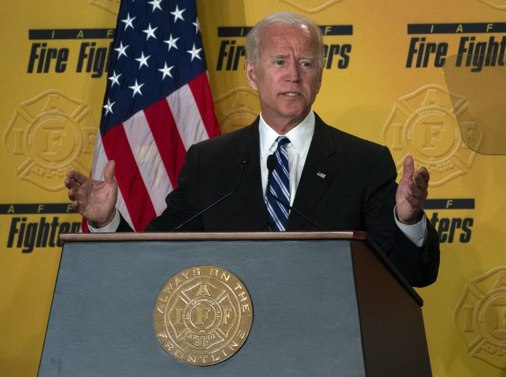 Top Firefighters' Union Supports Biden, Opposes Medicare for All