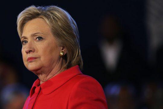 Hillary Clinton says 'corrupt human tornado' Trump won't win reelection