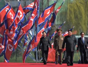 North Korea flagNorth Korea flag