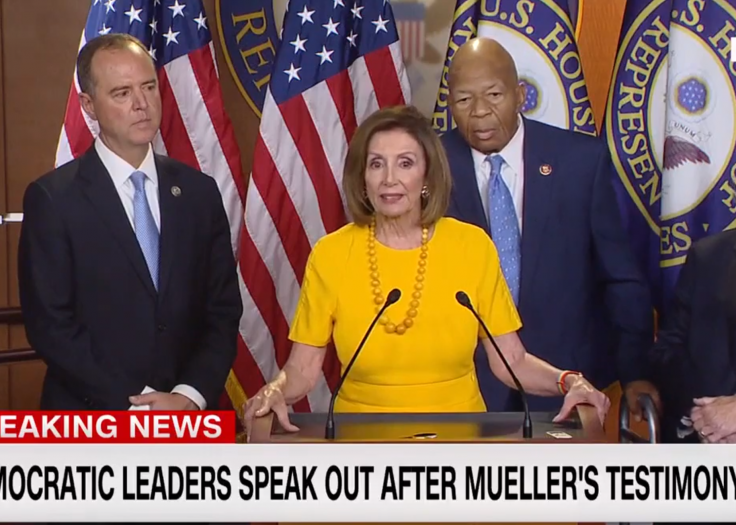Pelosi Tells Media to Be 'Messengers of Truth' on Mueller Testimony