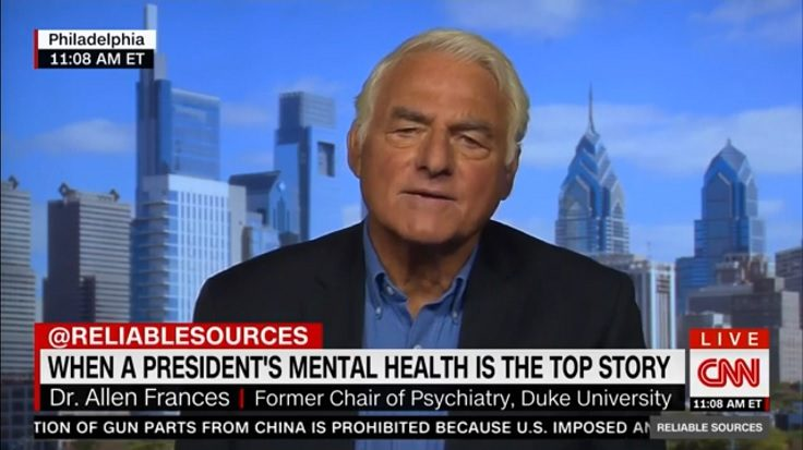 Psychiatrist Warns CNN Against Diagnosing Trump's Mental Health