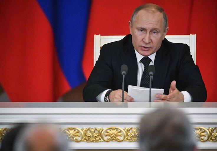 Russian President Vladimir Putin /