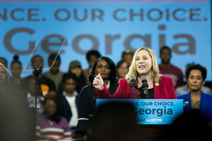photo image Georgia Democrat Appeared to Bolster Senate Campaign Email List Off Her Company's Bankruptcy