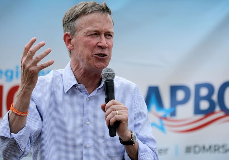 Hickenlooper Dropped Presidential Bid On Personal Disclosure Due Date