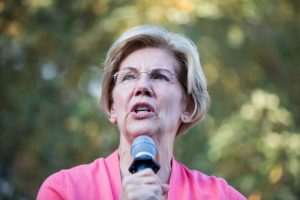 Sen. Elizabeth Warren Holds New Hampshire Town Hall