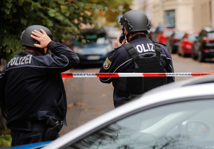photo image Two Killed in Shooting at Synagogue in Germany, Suspects Flee in Hijacked Car