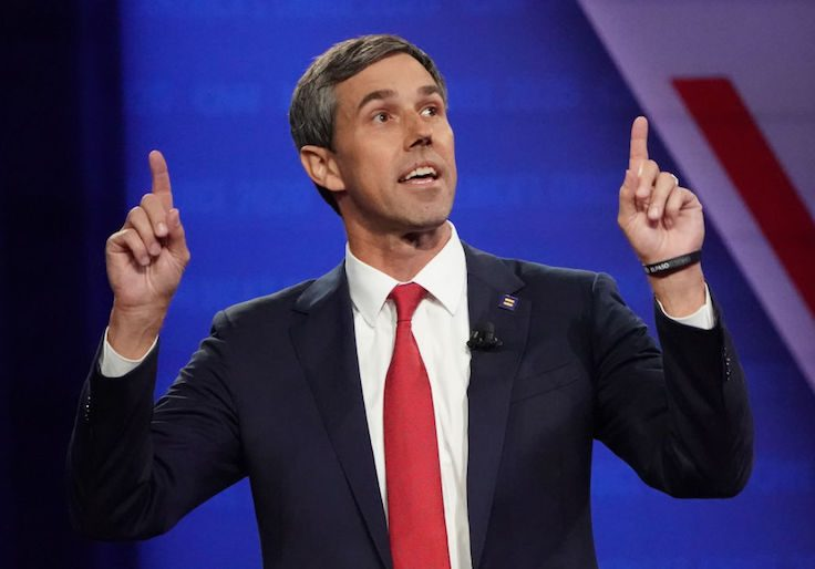 Buttigieg, O'Rourke go head-to-head over gun control