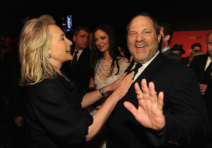 photo image Farrow: Weinstein Leveraged Clinton Connections To Kill Sexual Harassment Story