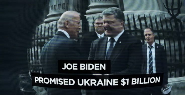 Defending his Ukraine role, Biden says he isn't 'going anywhere'
