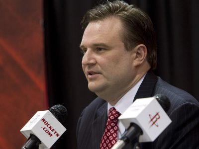 Daryl Morey, general manager of the Houston Rockets