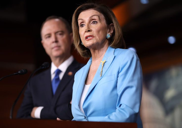 Donald Trump says Nancy Pelosi may be guilty of treason