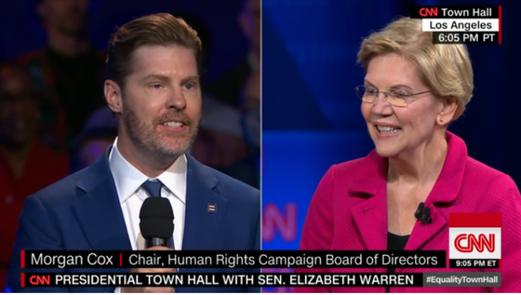 CNN Failed to Disclose Warren Town Hall Questioner Was Maxed-Out Donor