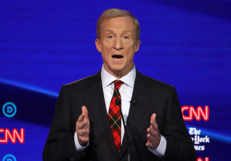 Staffers Sue Billionaire Dem Tom Steyer