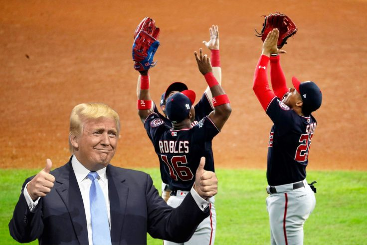 Trump draws boos from Washington crowd at World Series