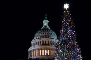 Speaker Pelosi Hosts U.S. Capitol Christmas Tree Lighting Ceremony
