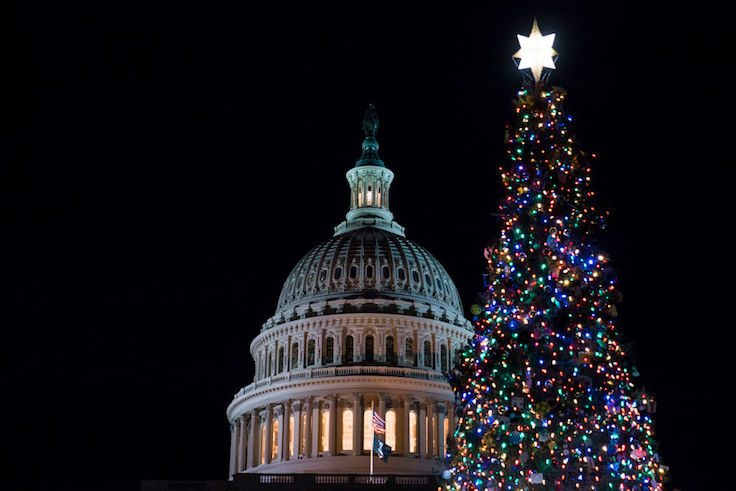 Speaker Pelosi Hosts U.S. Capitol Christmas Tree Lighting Ceremony